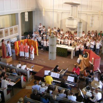 "Musicalaufführung ""Babylon"" 2012, Kirche Kirchditmold"